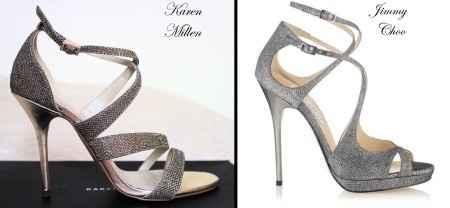 Confronto sandali gioiello