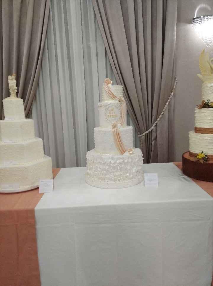 Risultato: la tua torta ideale in base alle tue nozze - 1
