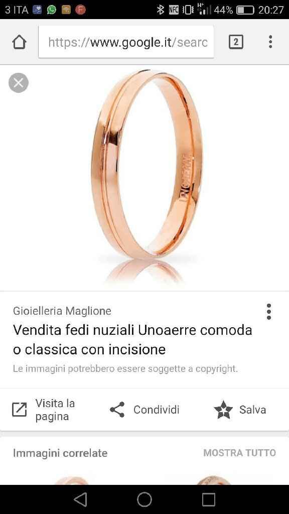 Fede oro rosa - 1