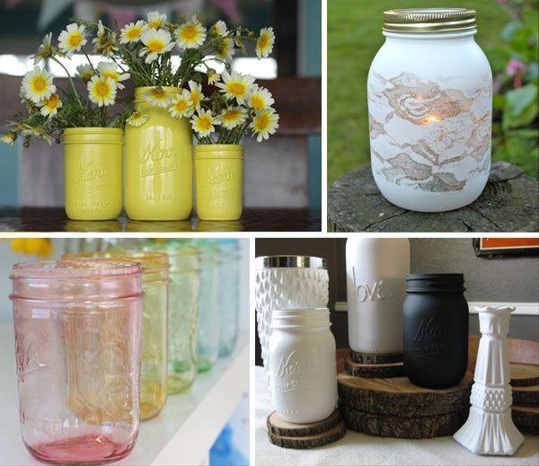 Decorazioni con barattoli fai da te forum - Vasi decorati fai da te ...
