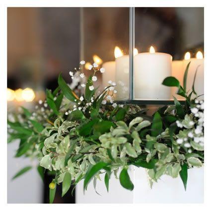 Decorazioni matrimonio con candele organizzazione - Decorazioni con candele ...