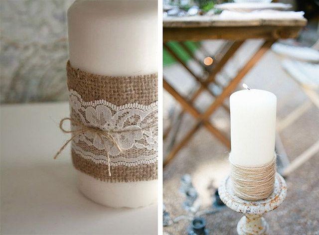 Decorare Candele Bianche : Decorazioni matrimonio con candele organizzazione matrimonio