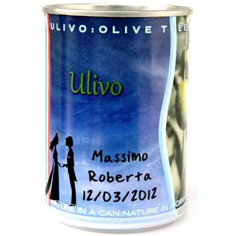 Bomboniera: piantine d'ulivo - 1