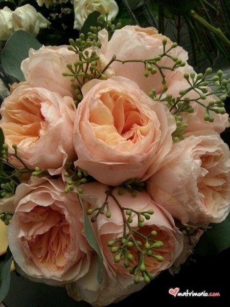 Bouquet di rose inglesi per sposine estive! - 5