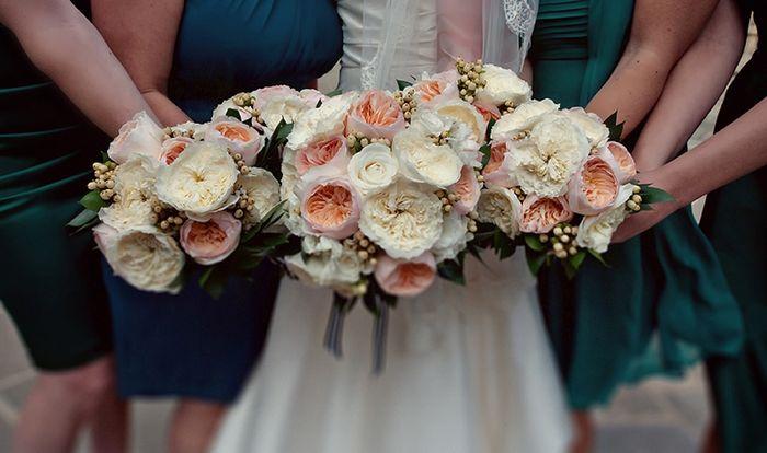 Bouquet di rose inglesi per sposine estive! - 7