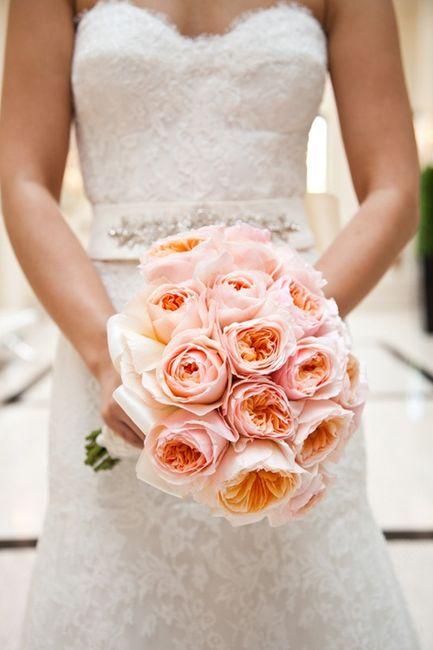 Bouquet di rose inglesi per sposine estive! - 10