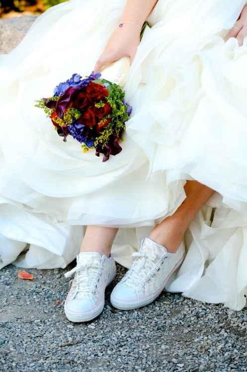 Converse come scarpe di riserva!!