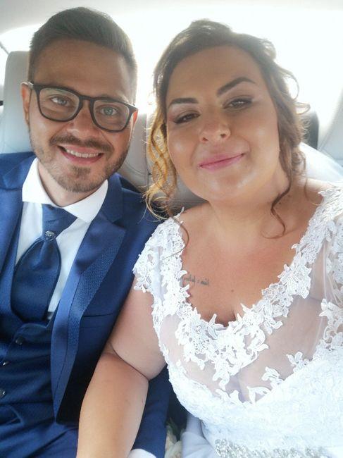 Il primo Selfie da sposati!! 😜❤️📷💒 9
