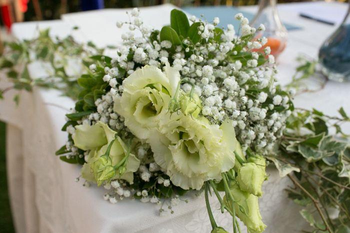 fiori tavolo cerimonia
