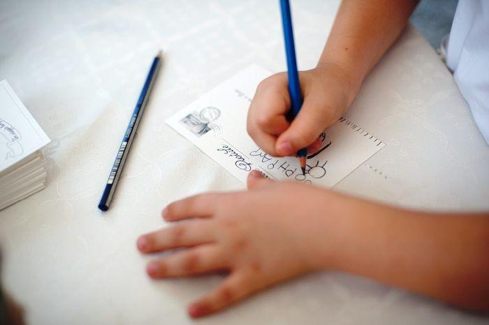Dediche scritte sulle cartoline