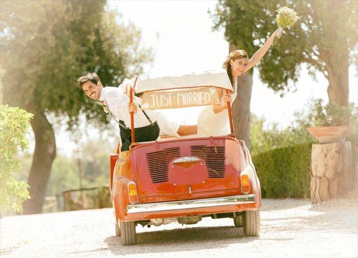 Scegli il tuo mezzo di trasporto con il semaforo di Matrimonio.com🚦 1