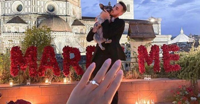 Castrovilli-Risaliti: la proposta è un vero trionfo di romanticismo! 1
