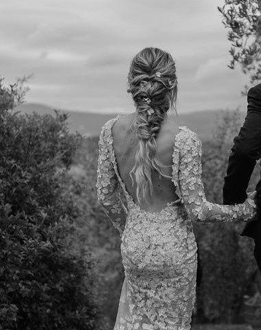 Di quale matrimonio vip è quest'acconciatura? 1