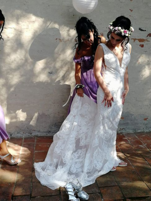 Abito per sposa bassina 3