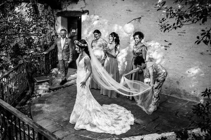 Abito per sposa bassina - 1
