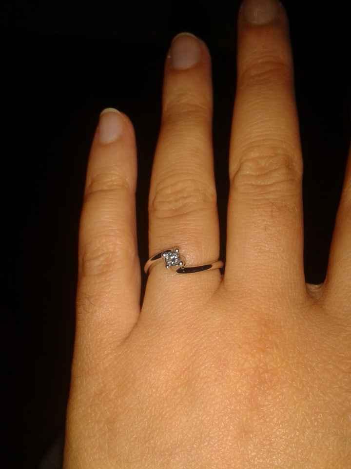 Ecco il mio anello *.*