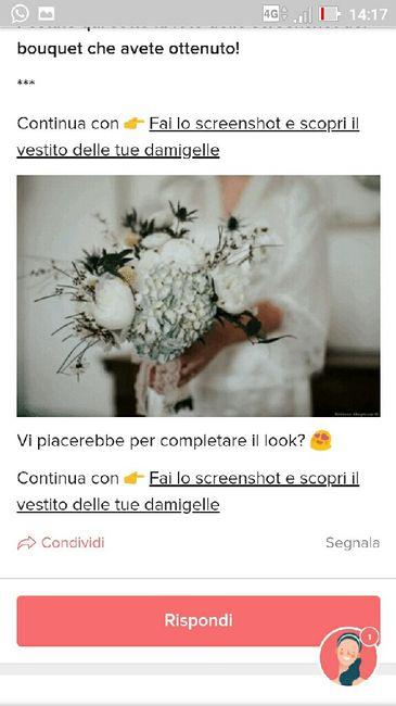 Fai lo screenshot e scopri il tuo bouquet 29