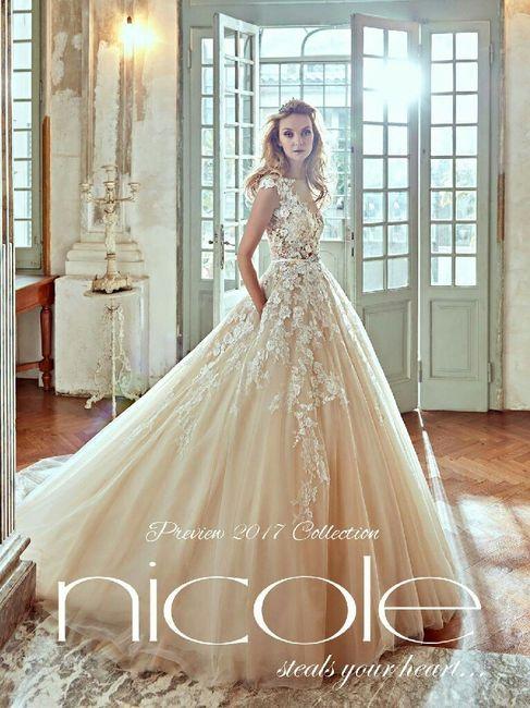 8542216d26a8 Nicole 2017 - Moda nozze - Forum Matrimonio.com