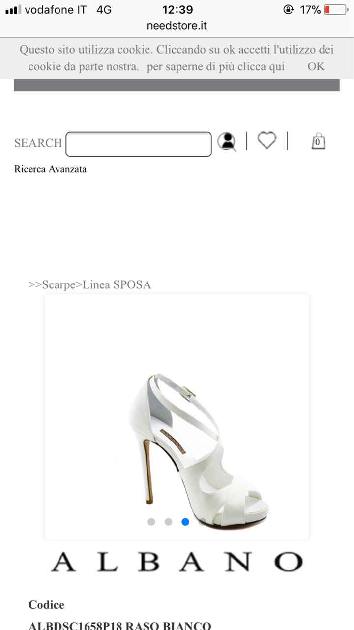 aaa cercasi questa scarpa!!! - 1