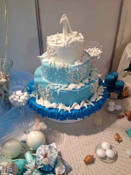 Torta nuziale tema mare - Ricevimento di nozze - Forum Matrimonio.com