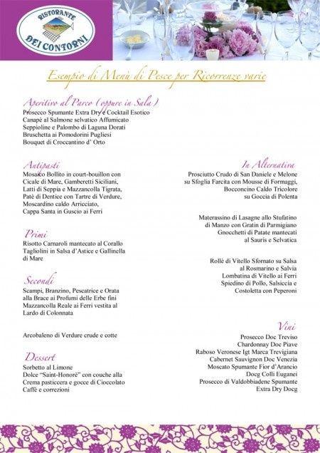 Anniversario Di Matrimonio Menu.Menu Carne O Pesce Ricevimento Di Nozze Forum Matrimonio Com