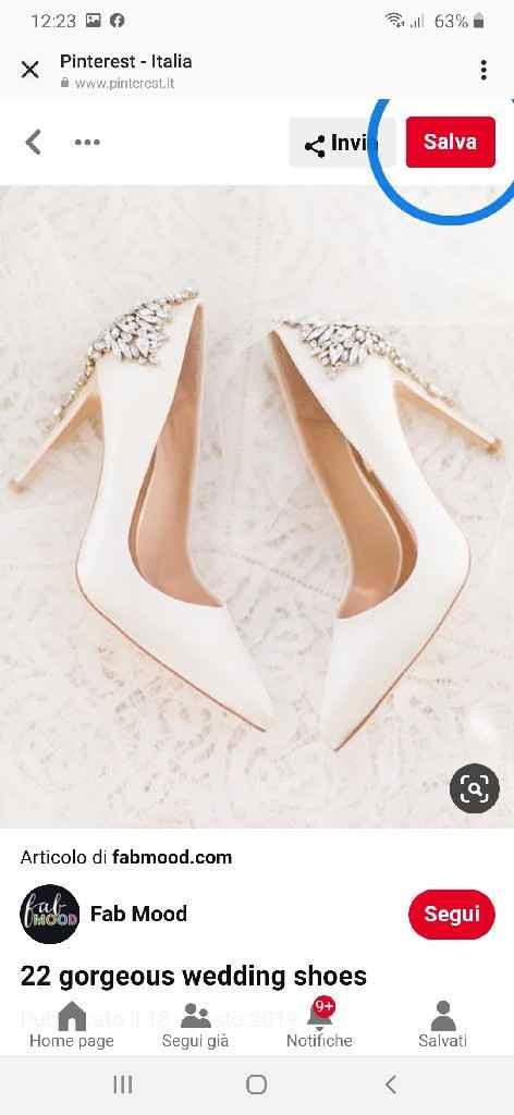 Scarpe tacco matrimonio - 1