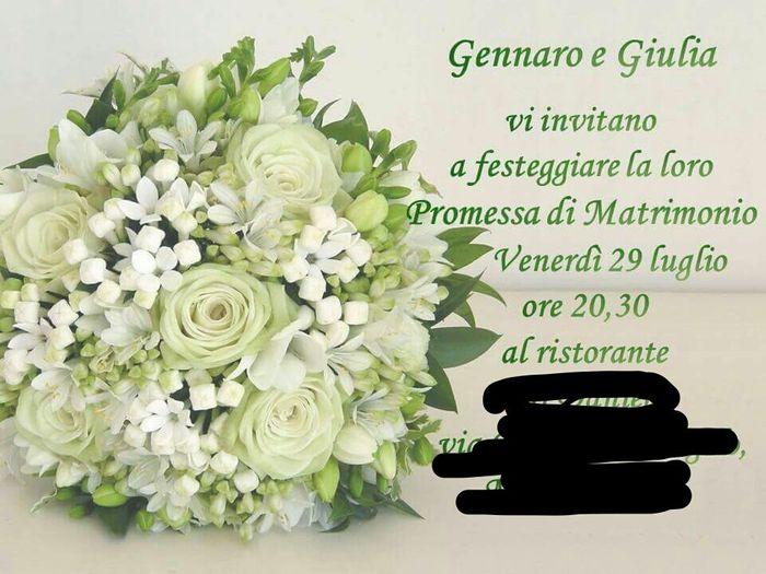 c74fc9155d4f Inviti promessa - Organizzazione matrimonio - Forum Matrimonio.com