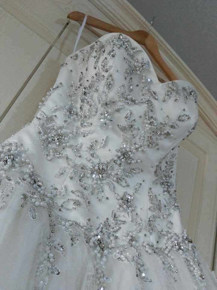 Tutorial lavaggio abito da sposa..in casa! - 5