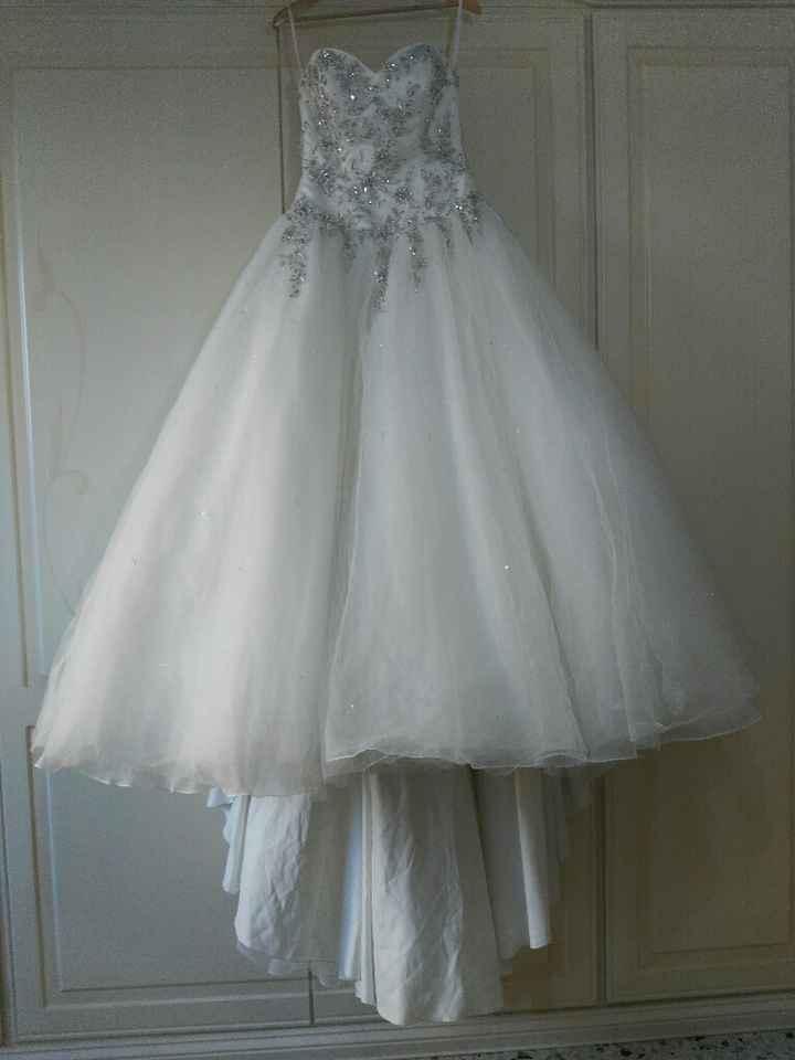 Tutorial lavaggio abito da sposa..in casa! - 7