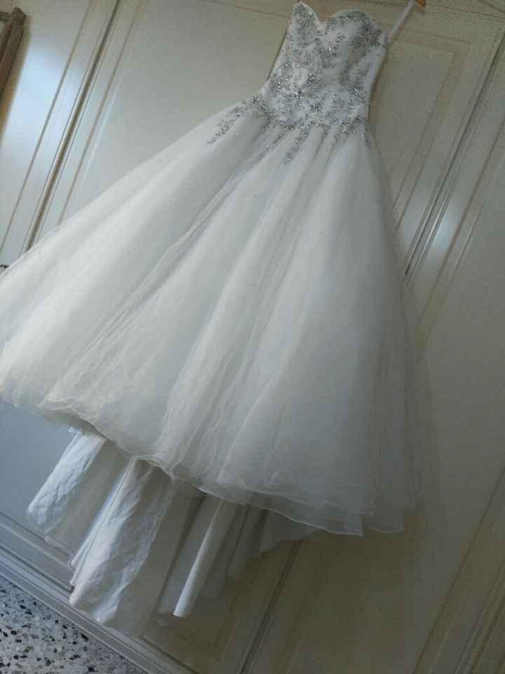 Tutorial lavaggio abito da sposa..in casa! - 9