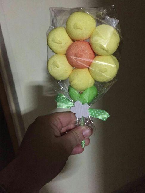 segnaposto matrimonio marshmallow