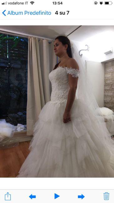 Differenza abito da sposa bianco e avorio 4