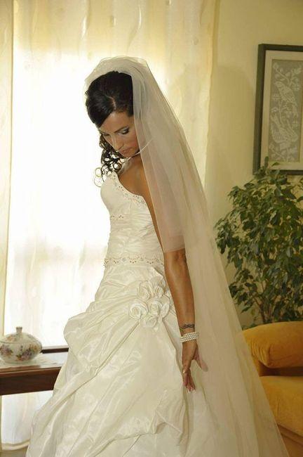 Differenza abito da sposa bianco e avorio 5