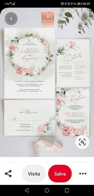 Spose.... condividete le vostre partecipazioni!! 😍😍 16