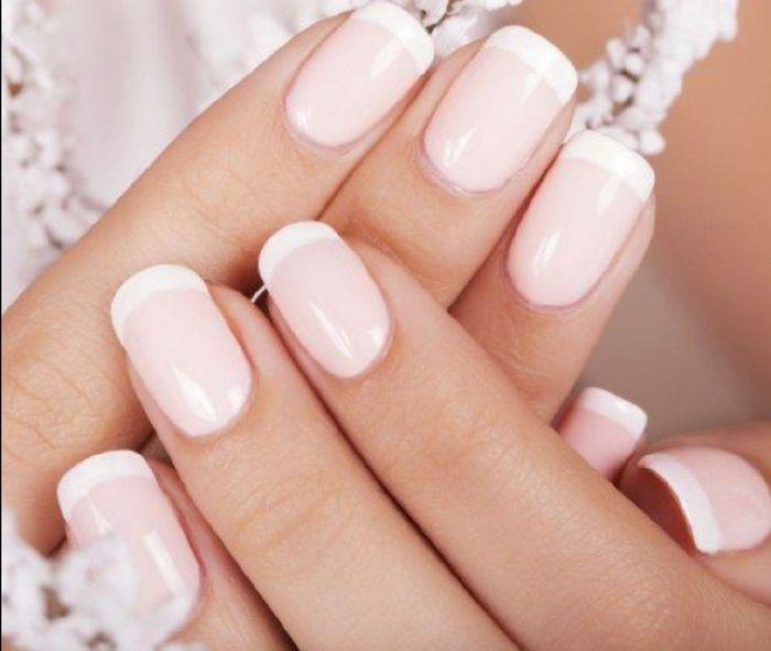 Manicure sposa rosa 🎀 4