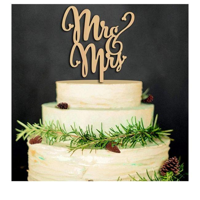 Vota il tuo cake topper👯♀️ 2