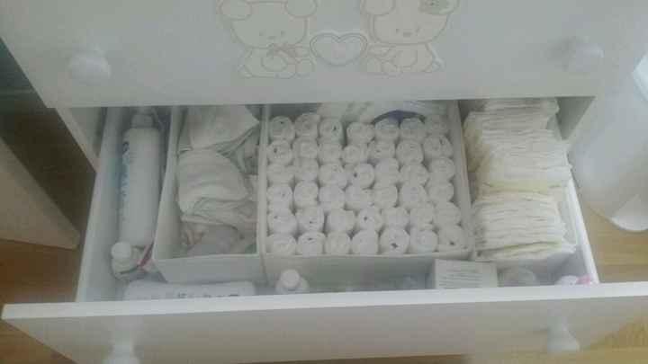 Come avete organizzato il fasciatoio/cassettiera? - 3