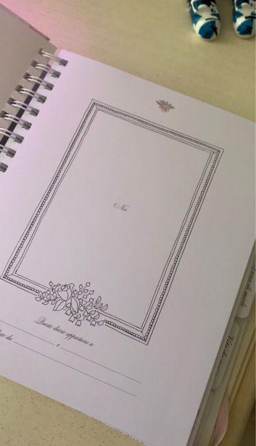 Il diario del nostro matrimonio! 5
