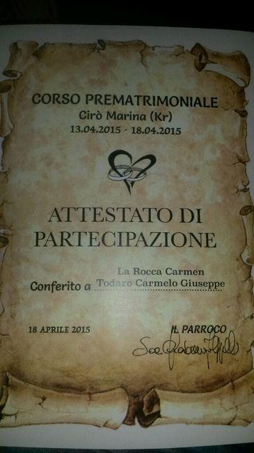 Corso prematrimoniale - 1