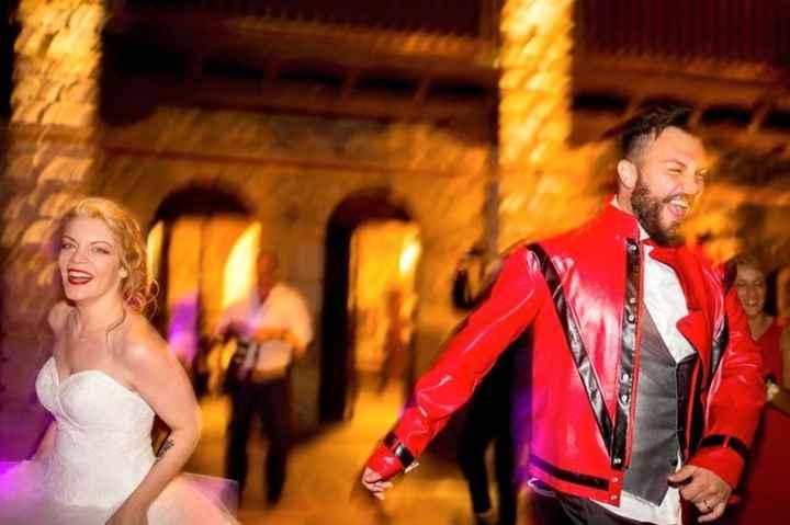 Balli e mio marito in veste Michael Jackson