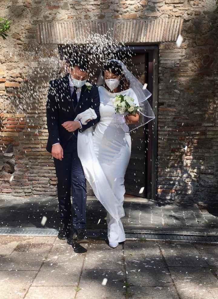 Ci siamo sposati il 6/6/2020 onorando la nostra promessa. 1