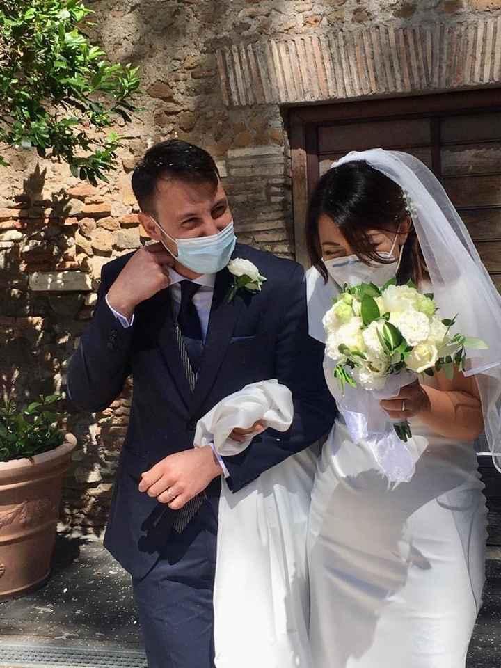 Ci siamo sposati il 6/6/2020 onorando la nostra promessa. 2
