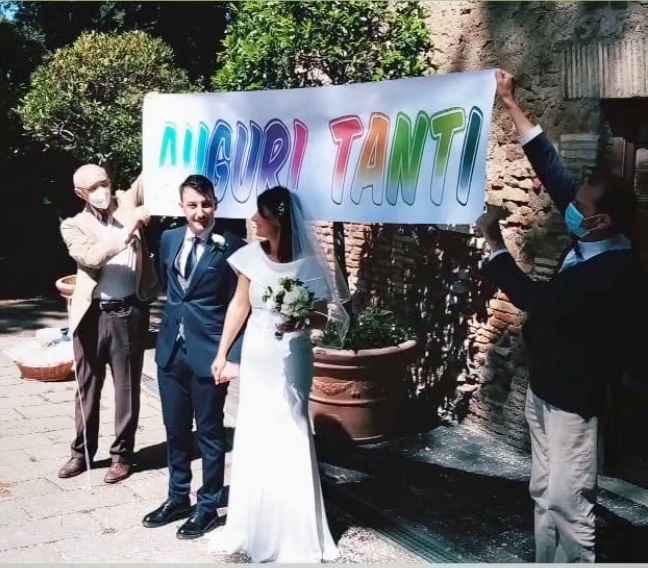 Ci siamo sposati il 6/6/2020 onorando la nostra promessa. 4