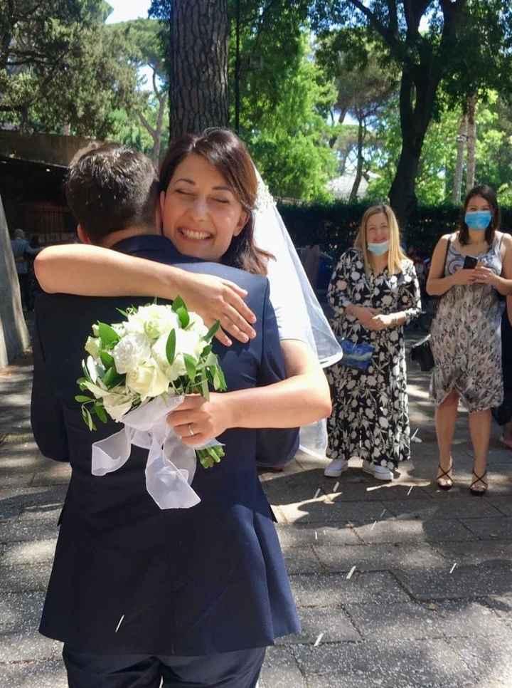 Ci siamo sposati il 6/6/2020 onorando la nostra promessa. 5