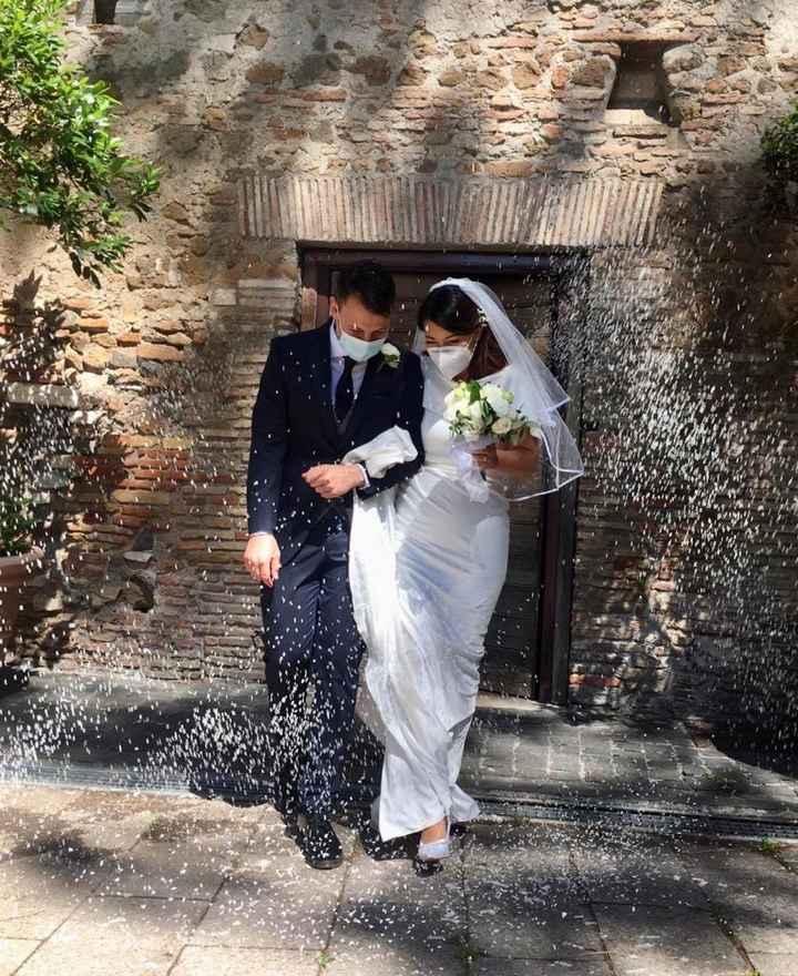 Ci siamo sposati il 6/6/2020 onorando la nostra promessa. 6