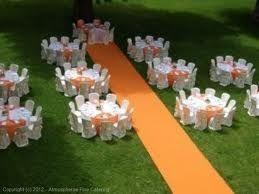 Decorazioni Matrimonio Arancione : Consiglio colori matrimonio: arancio e bianco pagina 2