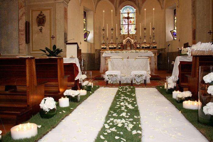 spesso Alcuni addobbi chiesa - Cerimonia nuziale - Forum Matrimonio.com UU26