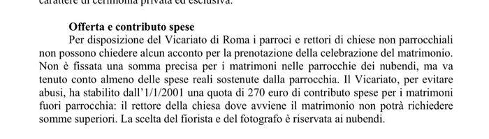 Chiese roma con offerta libera 1