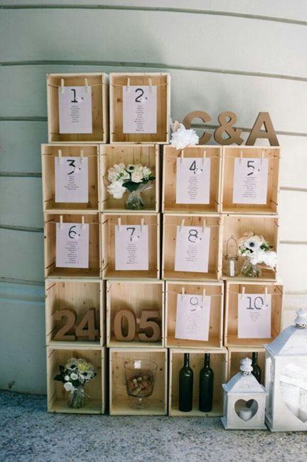 Tableau Matrimonio In Legno : Tableau mariage fai da te pagina