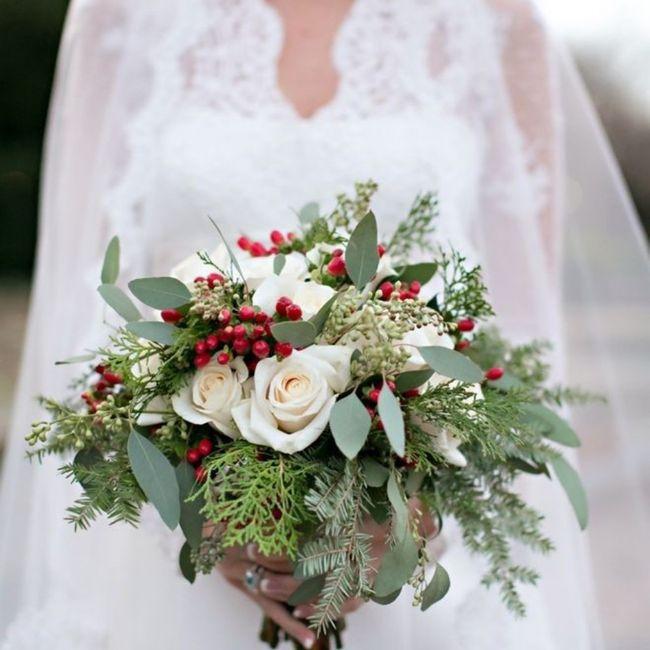 Bouquet natalizio 🎄 confido in voi colleghe 😎 2